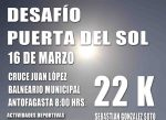 El joven Sebastián González se enfrenta al Desafío Puerta del Sol de 22K!