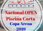 Comienza la Copa Nacional Apertura de Piscina Corta 2019 en la categoría open