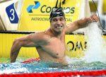 El veterano Nicholas Santos es campeón de los 50m mariposa