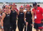 Chile es 9no en las aguas abiertas 5K de los JJSS de Playa en Argentina