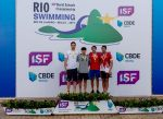 Mariano Lazzerini se lleva 3 medallas de bronce en el Mundial Escolar!