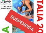 Suspendida la Coppa Italia Internacional 2019