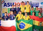 Natación chilena sumó más medallas en Asunción 2019