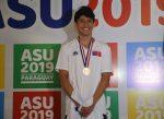 Tomás Isla ganó plata para Chile los Juegos Escolares Asunción 2019