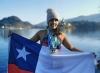 Bárbara Hernández completó el desafío alrededor de Manhattan y logró la triple corona!