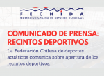 Fechida reitera que apertura de piscinas a nivel nacional depende del Minsal