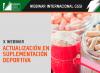 No te pierdas el 10º  Webinar sobre Suplementación Deportiva de Gatorade