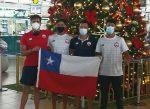 Tres nadadores chilenos competirán en evento FINA en Paraguay