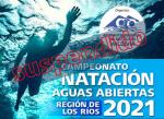 Suspendido el Campeonato de Natación Aguas Abiertas Los Ríos 2021