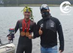 """Nadador de 16 años José Tomás Miranda completa el """"Tolten Wolf International Open Water Marathon"""""""