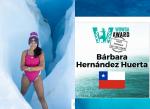 Chilena Bárbara Hernández fue elegida la Mujer del Año!