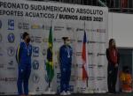 Bronce de Marín encabezó exitoso segundo día de chilenos en el Sudamericano de natación