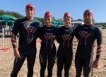 Selección chilena de aguas abiertas lista en Mar del Plata