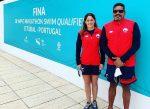 Mahina Valdivia buscará su boleto a Tokio en aguas abiertas de Portugal